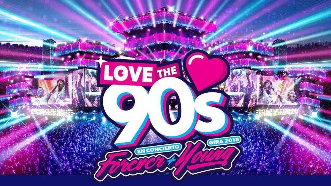 Love The 90´s Gira 2018 en Daimiel