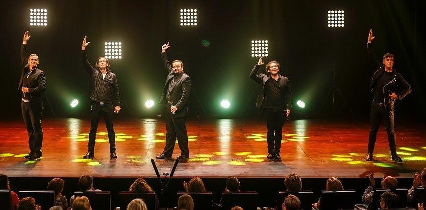 B vocal, música y humor a capella en concierto en Daimiel