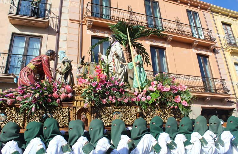 Procesión de las Palmas León
