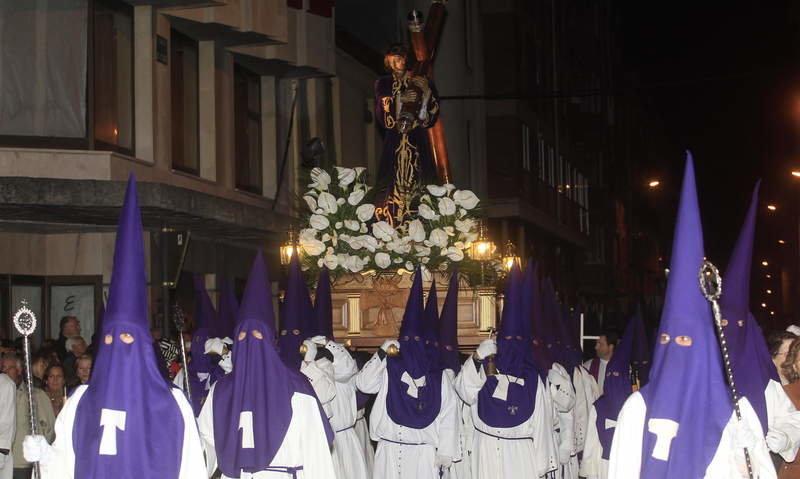 Procesión del Silencio Semana Santa León 2019