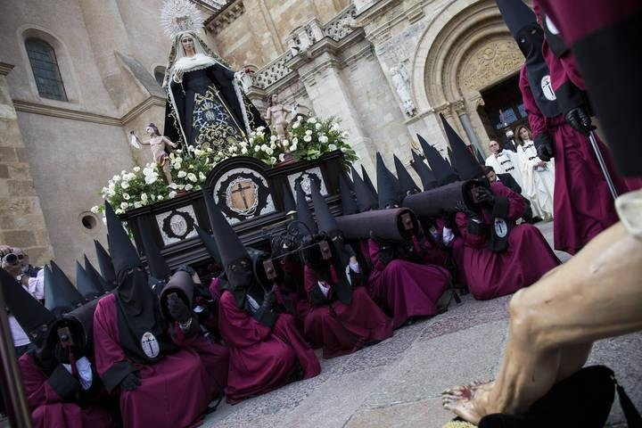 Procesión Desenclavado Semana Santa León